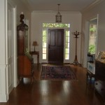 4 Inch #1 Red Oak Stained Provincial