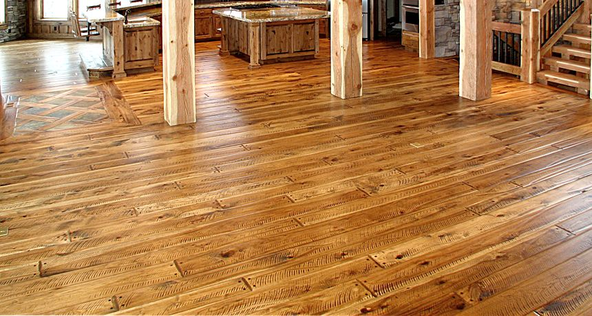 Wood Floors In Houston Rustic Hickory Flooring