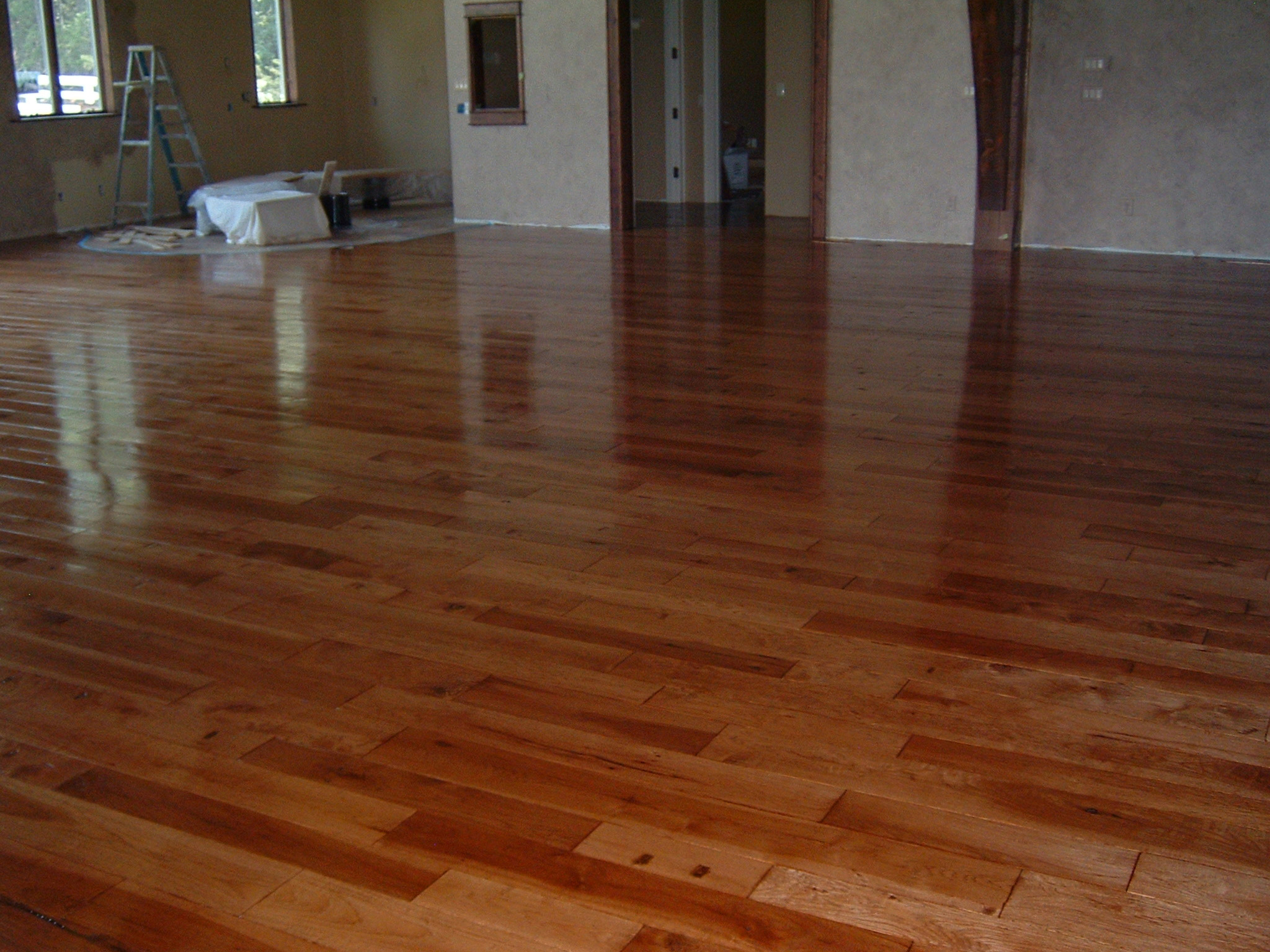 Moving in on my new floor ozark hardwood flooring for Hardwood flooring