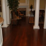 Rustic White Oak Floor with Stain