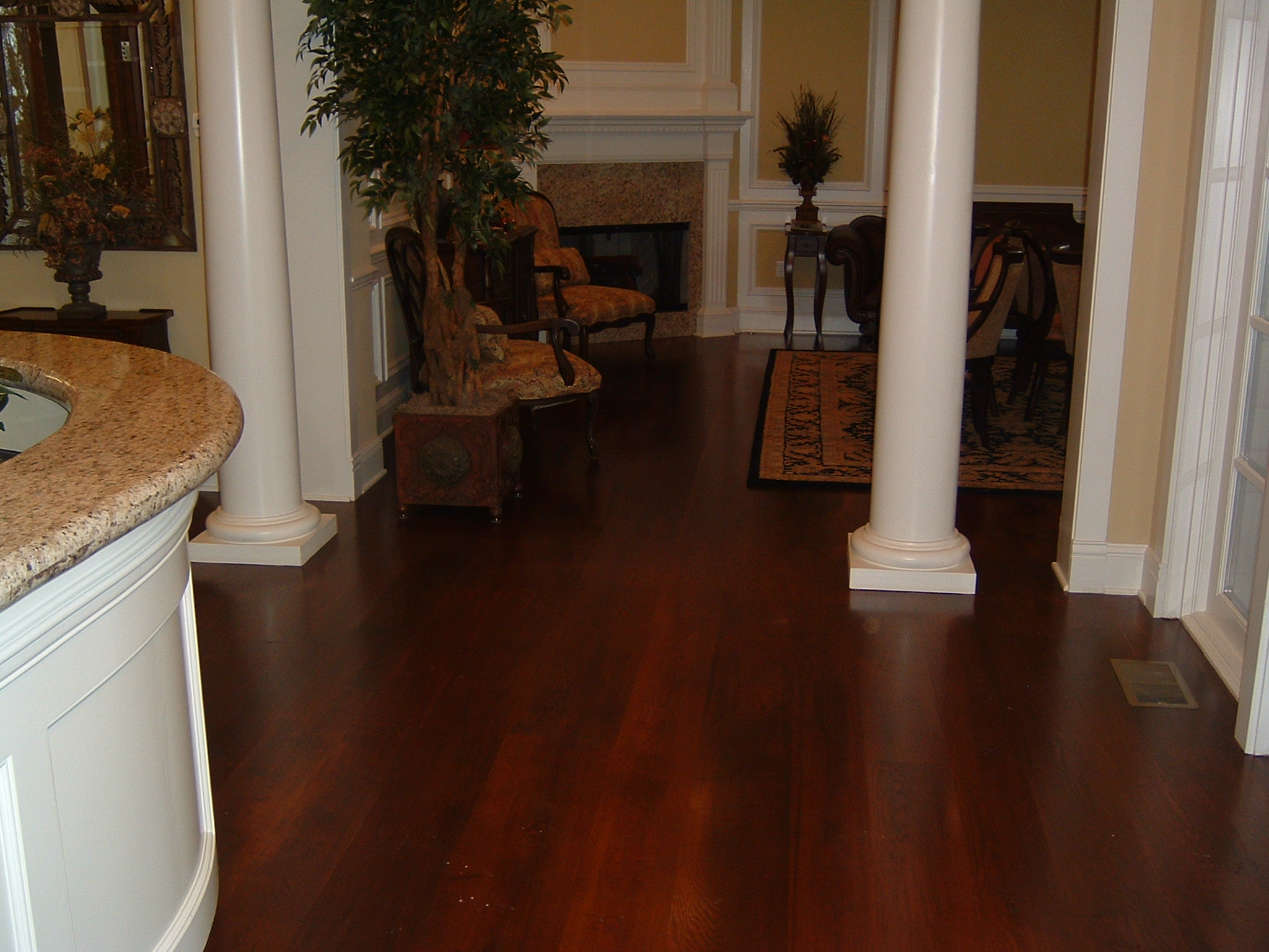Wide Plank Rustic White Oak with Stain | Ozark Hardwood Flooring