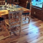 Hickory with Skip Sawn Distress