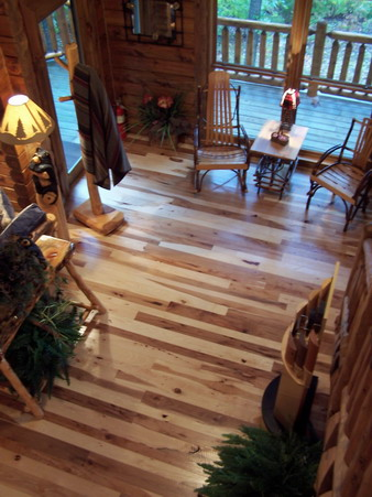 2 Rustic Hickory Projects Ozark Hardwood Flooring