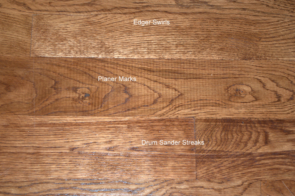 How not to sand and finish a wood floor ozark hardwood for Hardwood floor finishes
