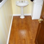 3 Inch #1 Red Oak Stained