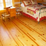 Ash and Pine Floors in a Log Cabin
