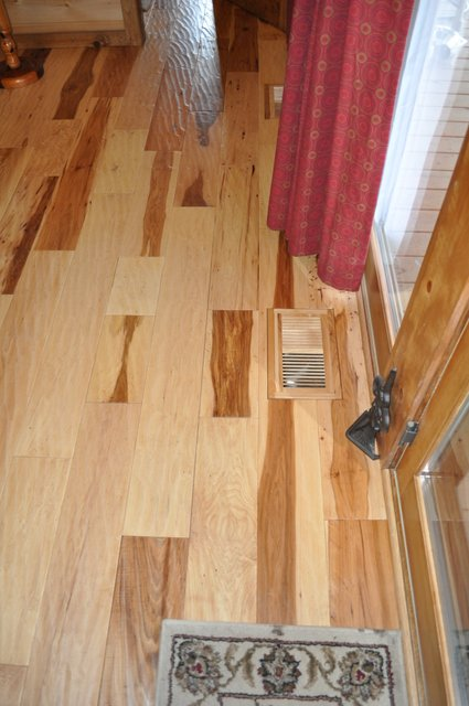 New Hand Scraped Hickory Floor Ozark Hardwood Flooring