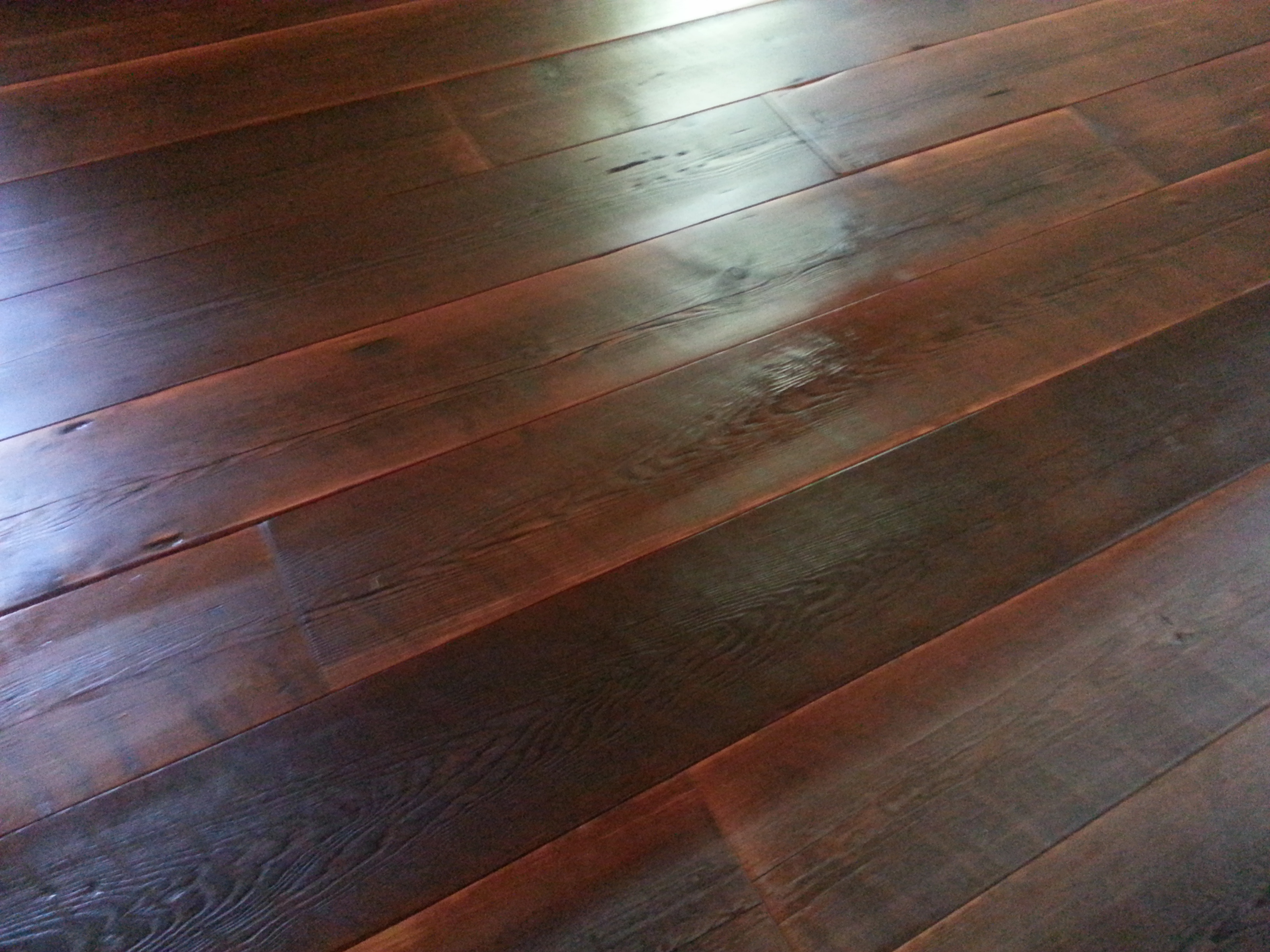 Rustic Sawed Plank Re Claimed Oiled Pine Beauty Ozark